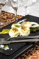 Fleischbällchen mit Spargel