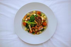 lokale Küche der Insel Azoren foto