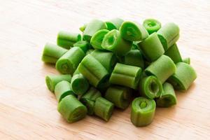 grüne Bohnen foto