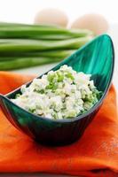 Salat mit Zwiebeln foto