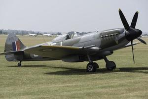Vintage Spitfire Fighter foto