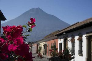 Landschaft von Antigua foto