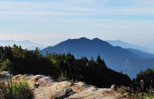 Landschaft des Berges