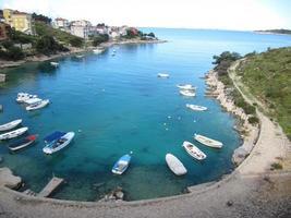Landschaft von Kroatien foto