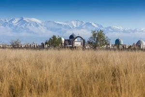 Landschaft in der Nähe von Almaty, Kasachstan foto