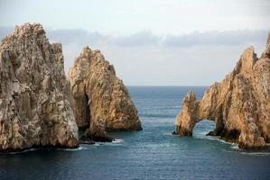 Bogen an der Spitze von Baja California foto