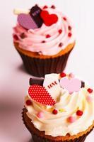 Vintage Cupcake d foto