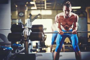 Gewichtheber foto