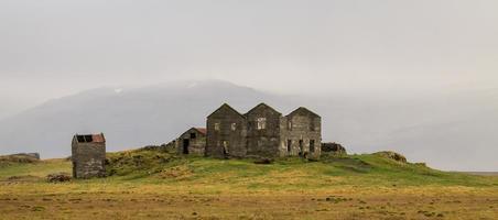 Landschaft in Island foto