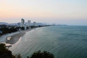 Kurve Bucht Landschaft foto