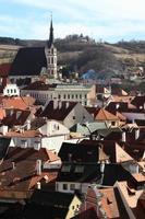 Landschaft von st. Vitus Kirche foto