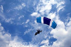 Fallschirmspringer foto