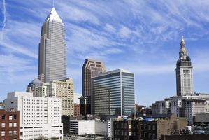 Wolkenkratzer in der Innenstadt von Cleveland