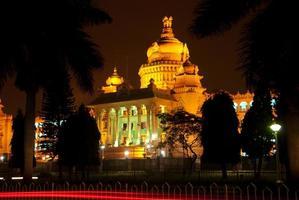 Bangalore in der Nacht foto