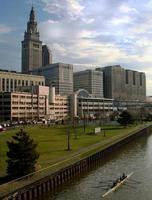 Ruderer in Cleveland Ohio foto