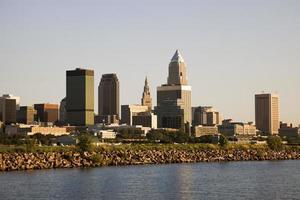 Cleveland vom See