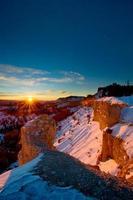 Bryce Winter Sonnenaufgang
