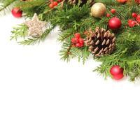 Winter- oder Weihnachtshintergrund