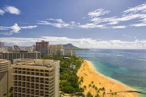 Waikiki und Diamantkopf foto