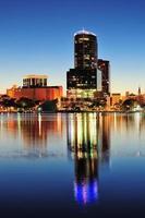 Orlando in der Nacht foto