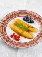 frittierte Banane foto