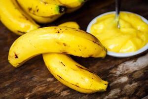 Bananencreme foto