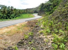 Autopista Nagua-Las Terrenas Straße foto