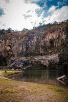 Steinbruch und See