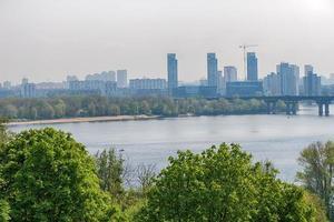 Blick auf den Dnjepr foto