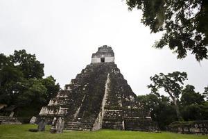 Tikals Tempel foto