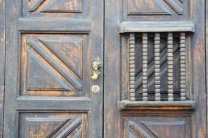 Eingangstür bei Antigua foto
