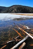 Pudacuo gefrorener See