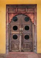 indische Tür foto