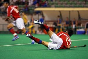 Hockey in Aktion foto