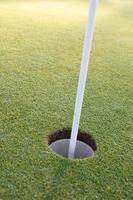 Golfloch foto