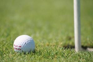 Golf schließen foto