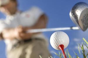 Golfspieler foto