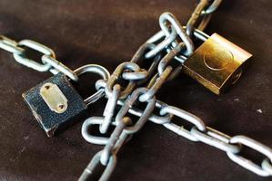 Schloss und Schlüssel foto