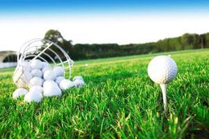 Golfspiel. foto