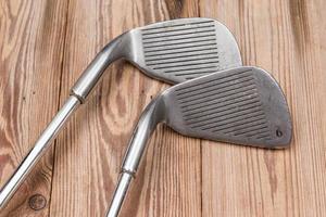 Satz Golfeisen foto