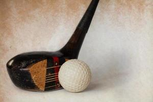 antiker Golfschläger foto