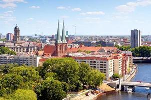 Stadtbild von Berlin foto