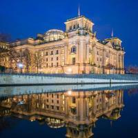 berlin reichstag und paul-löbe haus foto