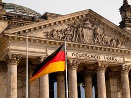 berlin: dem deutschen volke foto