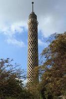 der fernsehturm von kairo foto