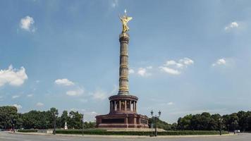siegessäule, berlin foto