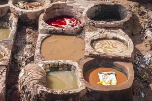 Blick auf die alte Medina in Fes foto