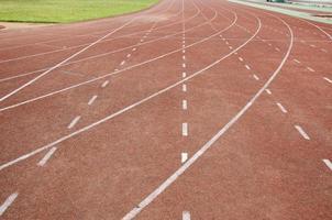Leichtathletikbahn foto