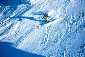 Skifahrer foto