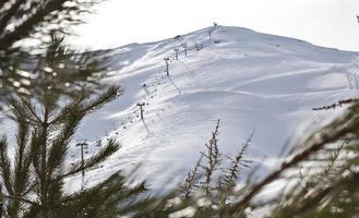 Skizentrum foto